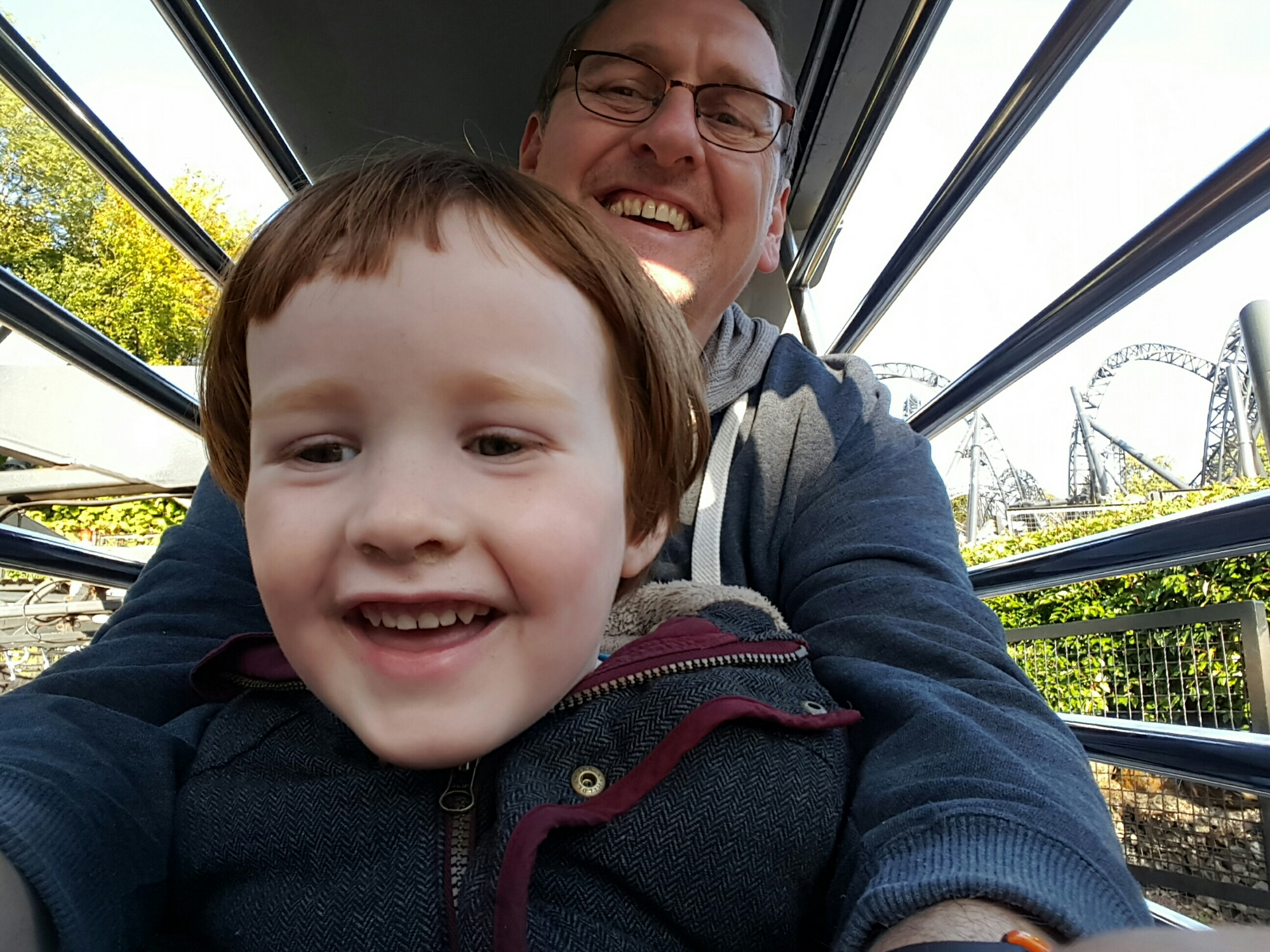 On a Ride with Daddy