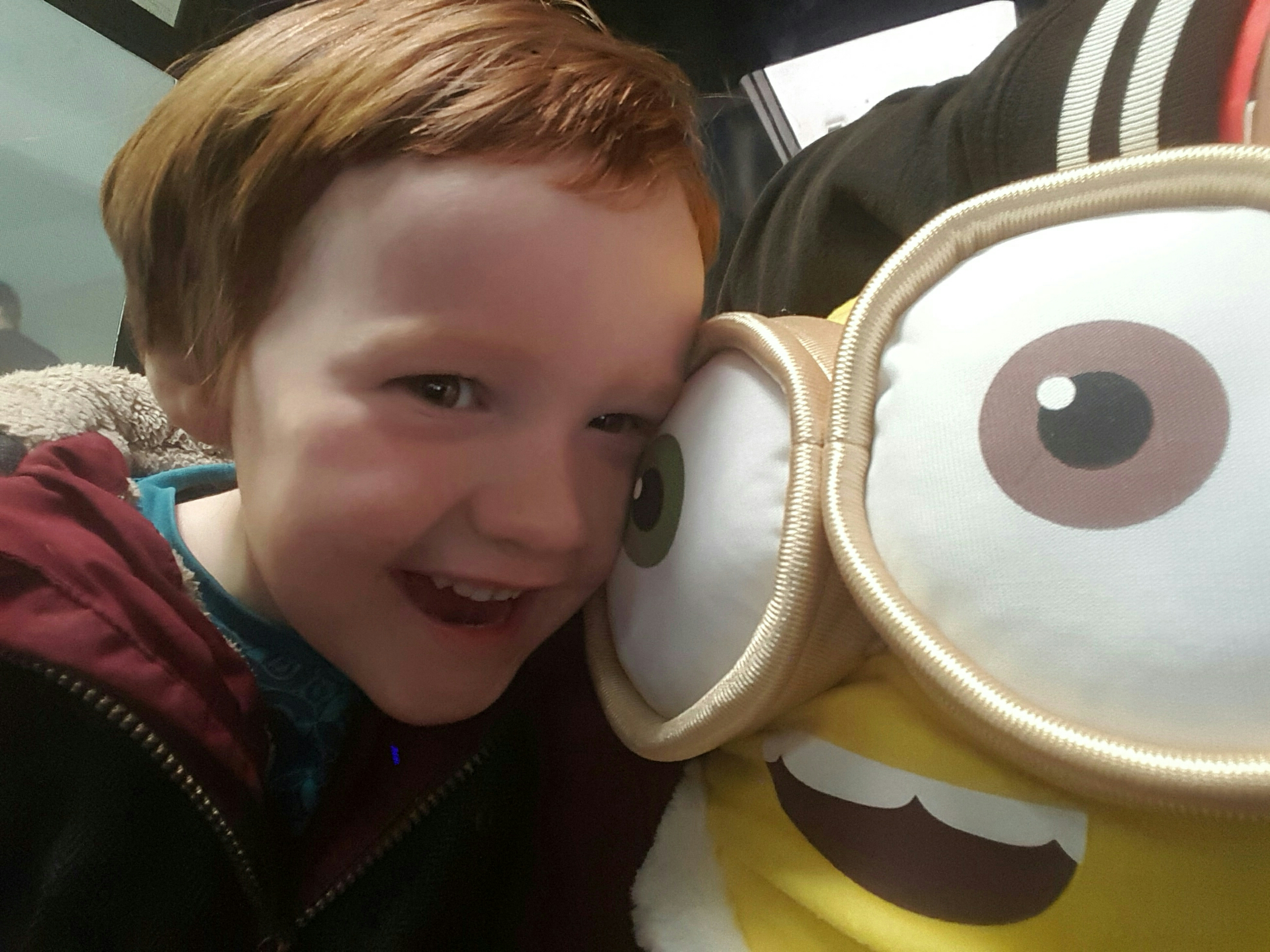 Hugging the Minion